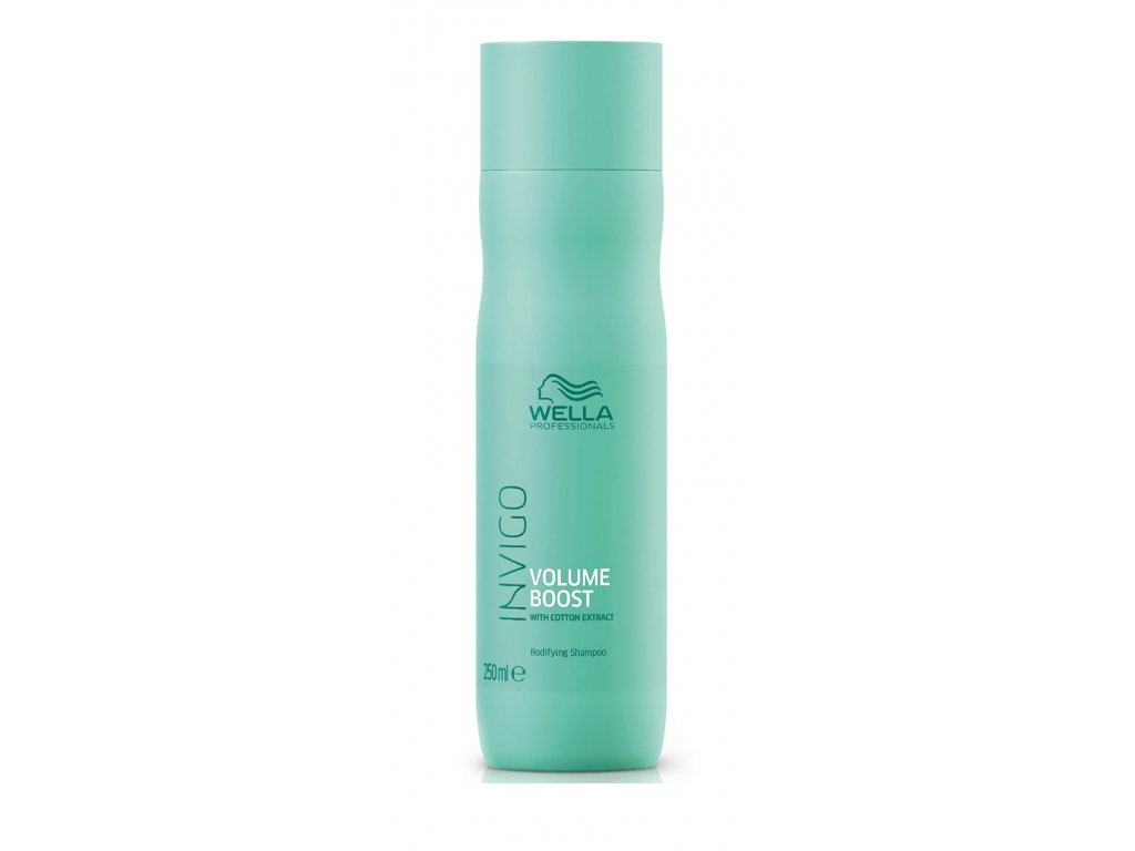 Wella Invigo Volume Boost shampoo 250ml šampon na objem vlasů