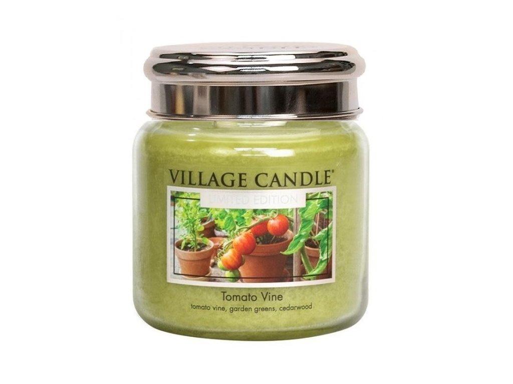 village candle tomato vine 390g