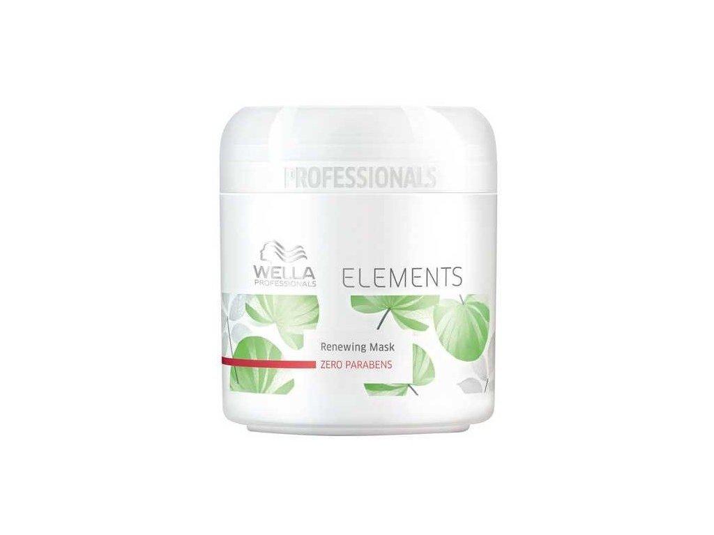Wella Professionals Elements mask 150ml regenerační maska