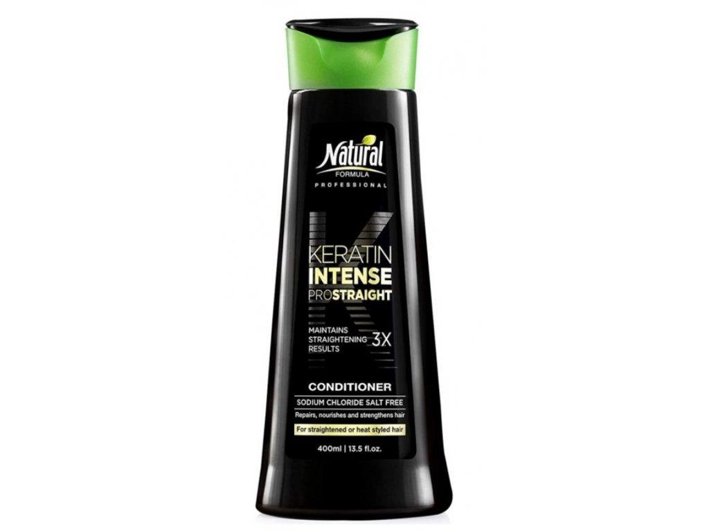 natural formula keratin intense conditioner 400ml