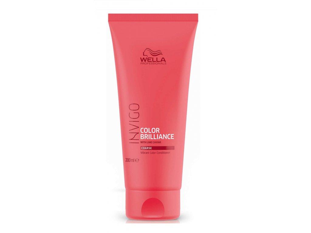 Wella Invigo Color Brilliance conditioner coarse 200ml kondicioner na hrubé barvené vlasy