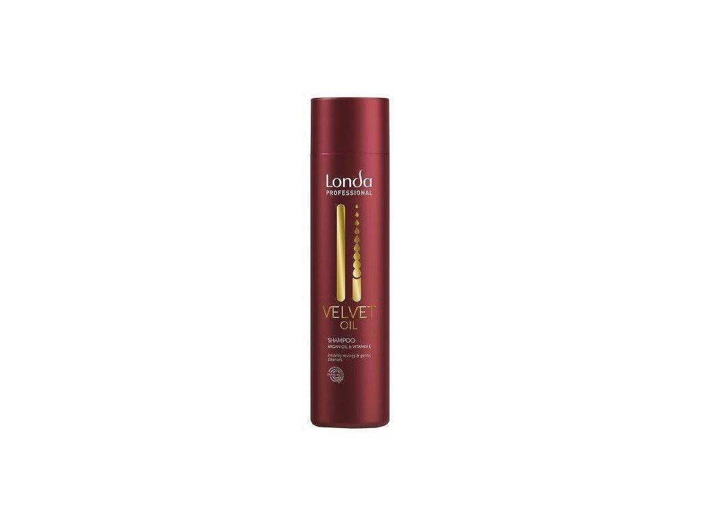 Londa Velvet oil shampoo 250ml revitalizační s arganovým olejem