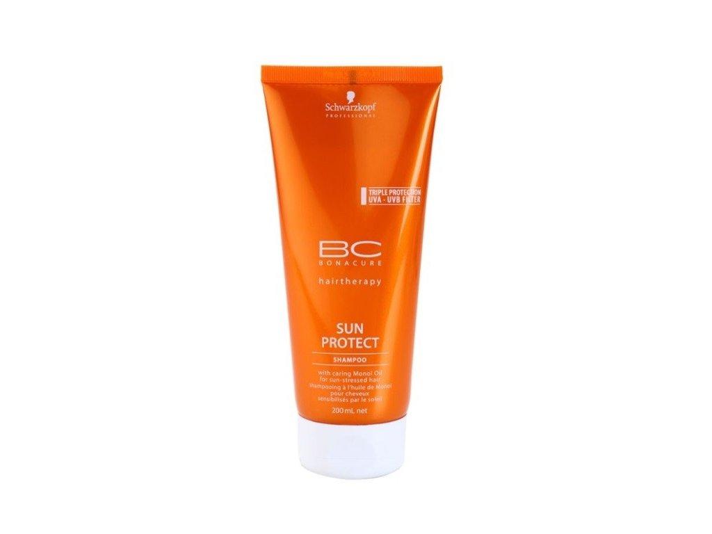 Schwarzkopf BC Bonacure SUN Protect shampoo 200ml šampon pro vlasy vystavené slunci