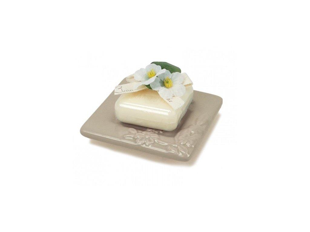 Clara mini mýdlenka s mýdlem Mandle 25g