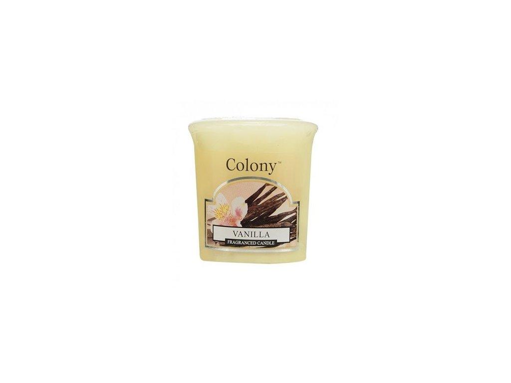 Colony votivní svíčka Vanilka 50g