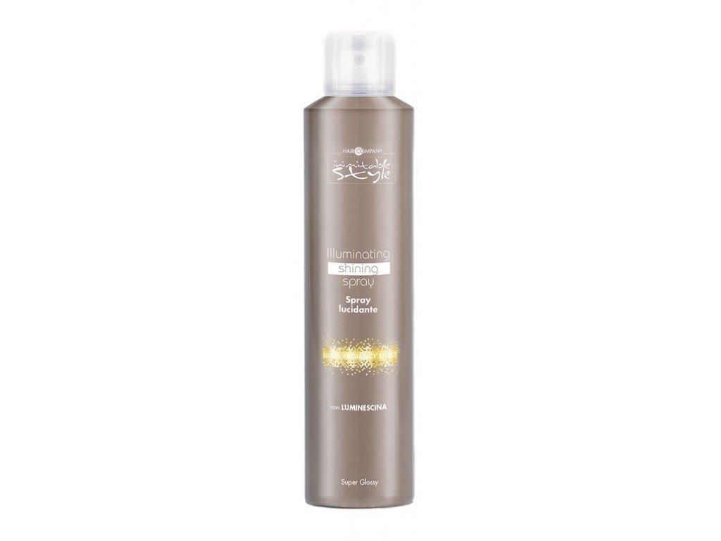 Hair Company Inimitable Style Illuminating Shining spray 250ml lesk na vlasy
