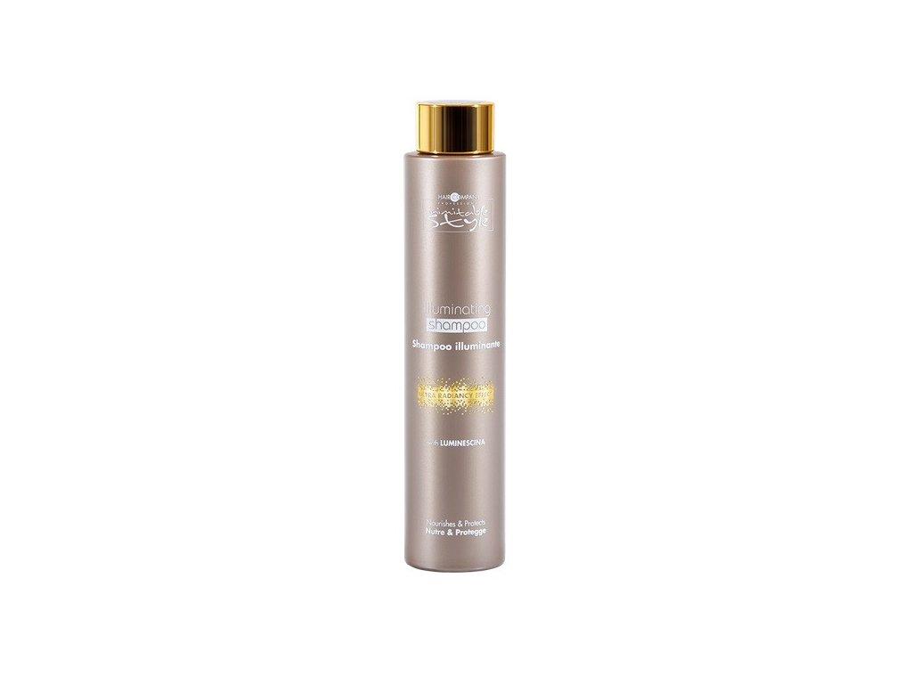 Hair Company Inimitable Style Illuminating shampoo 250ml šampon s leskem