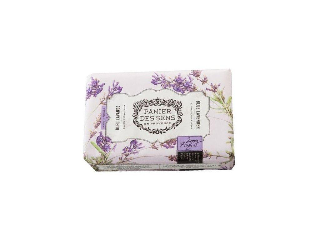 Panier des Sens mýdlo Modrá levandule a bambucké máslo 200g