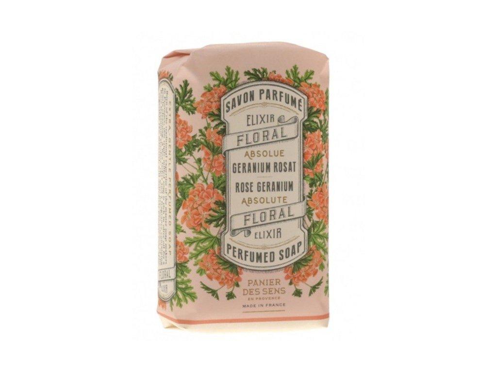 Panier des Sens mýdlo Růže a muškát 150g