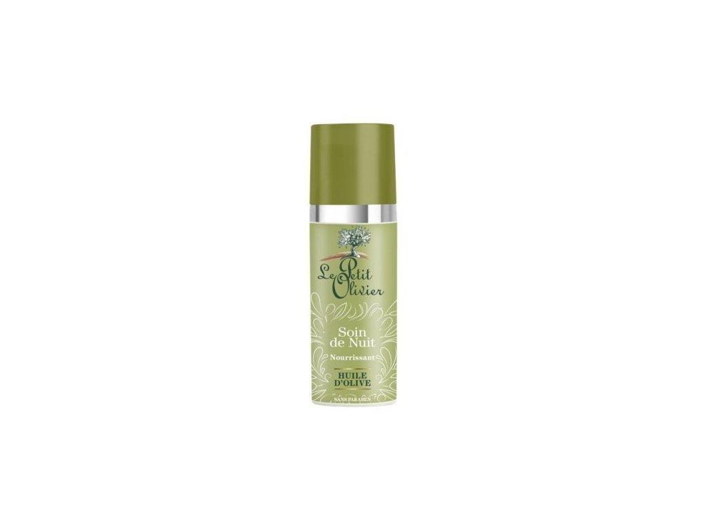 le petit olivier vyzivujici nocni krem s olivovovym olejem 50ml