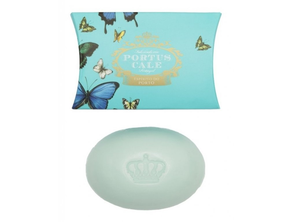 portus cale mydlo butterfly gold blue 40g