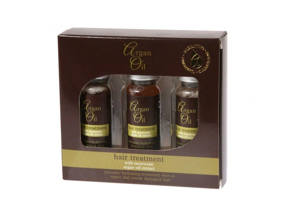 Xpel Argan oil hair treatment 3x12ml hydratační arganová péče