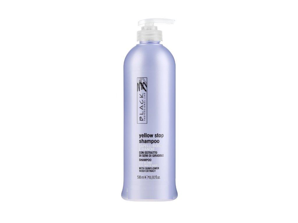 black yellow stop shampoo 500ml