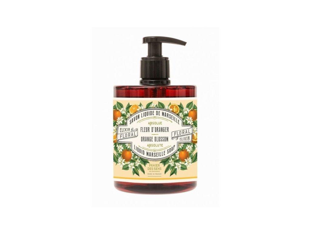 Panier des Sens tekuté mýdlo Pomerančové květy 500ml