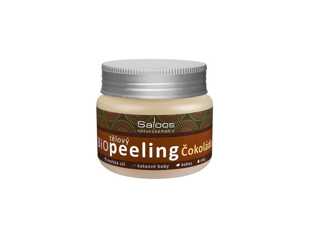 Saloos Bio peeling Čokoláda 140ml tělový peeling - PO EXPIRACI