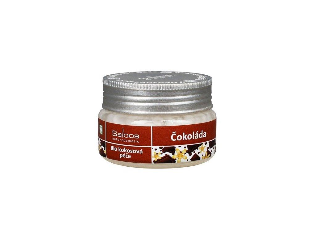 Saloos Bio kokosová péče Čokoláda 100ml tělový peeling - PO EXPIRACI