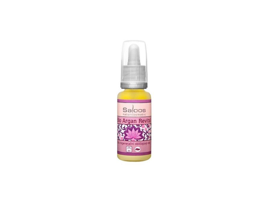 Saloos Bio regenerační obličejový olej Argan Revital 20ml - PO EXPIRACI