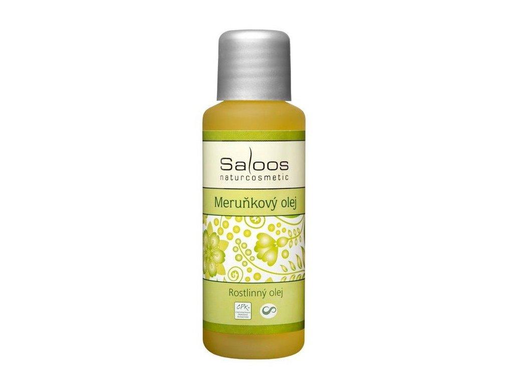Saloos meruňkový olej lisovaný za studena 50ml - PO EXPIRACI