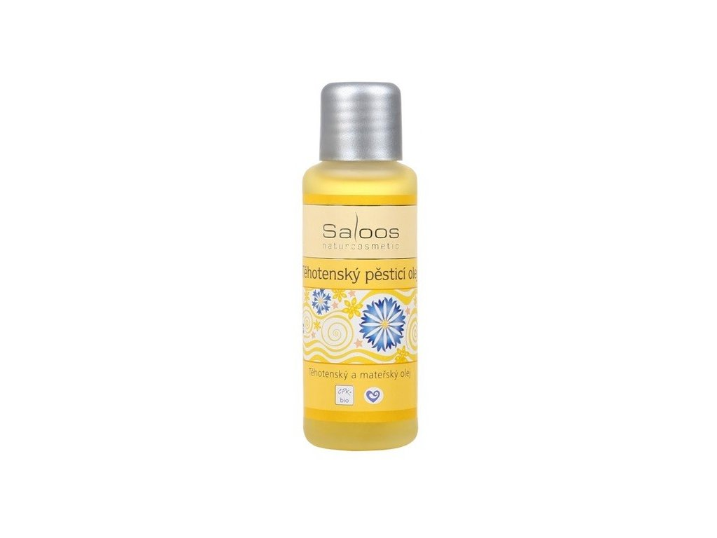 Saloos bio Těhotenský pěstící olej 50ml - PO EXPIRACI