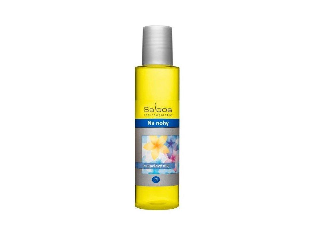 Saloos koupelový olej na nohy 125ml- PO EXPIRACI
