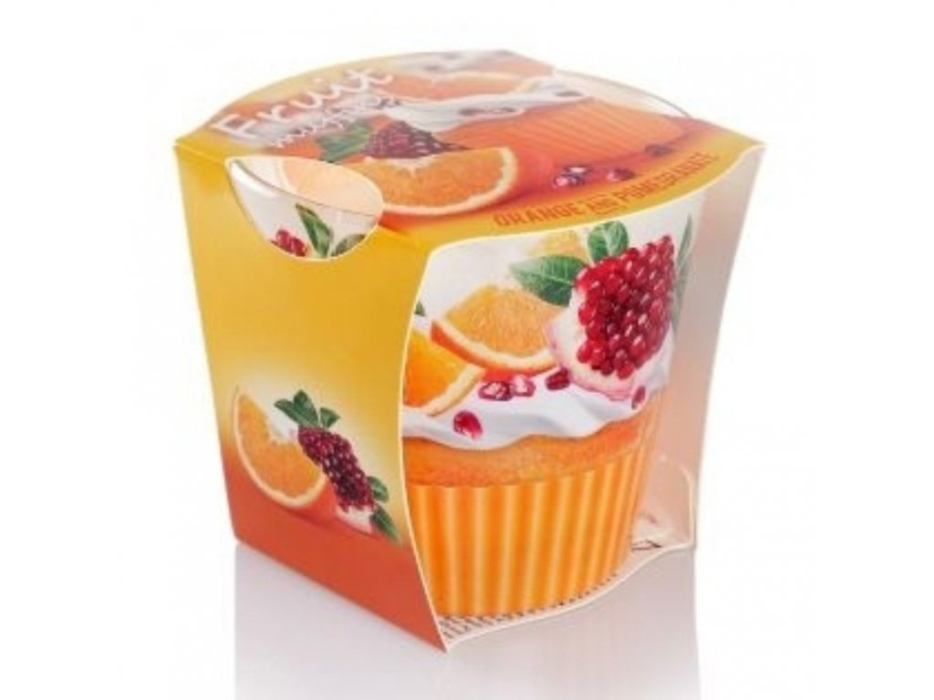 fruits muffinsskloorange