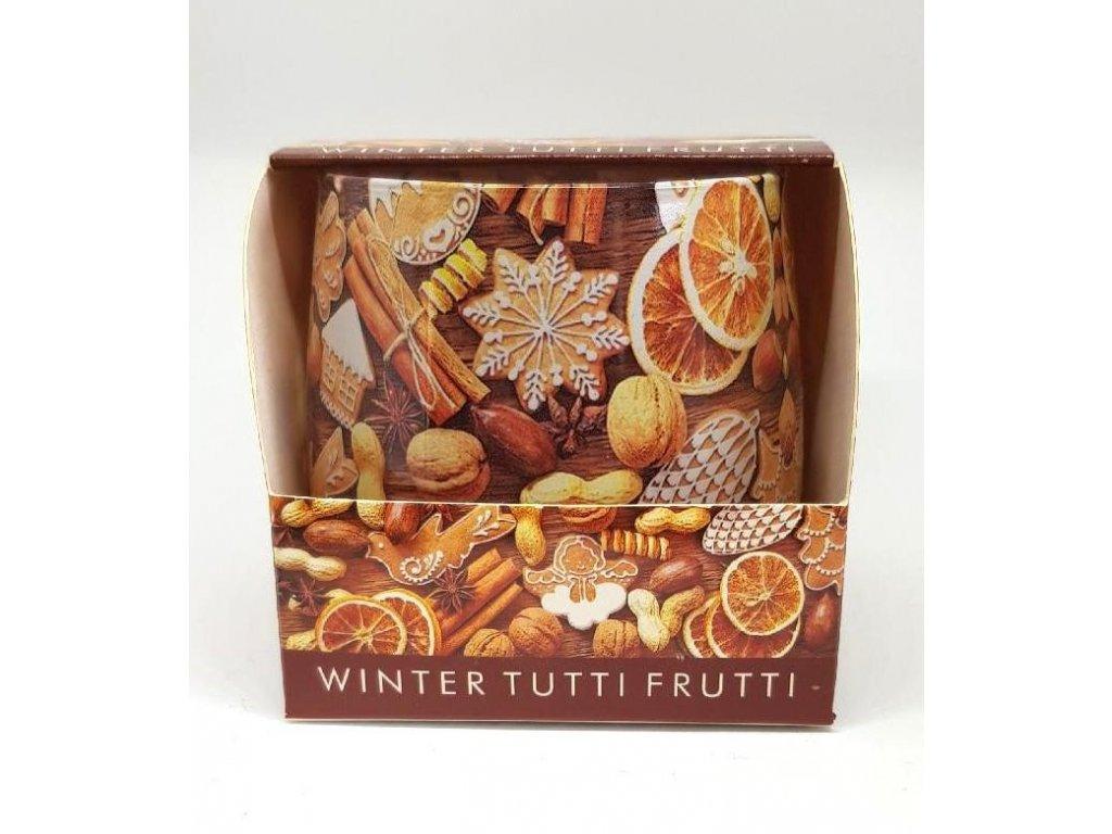 Svíčka Winter Tutti Frutti 100g