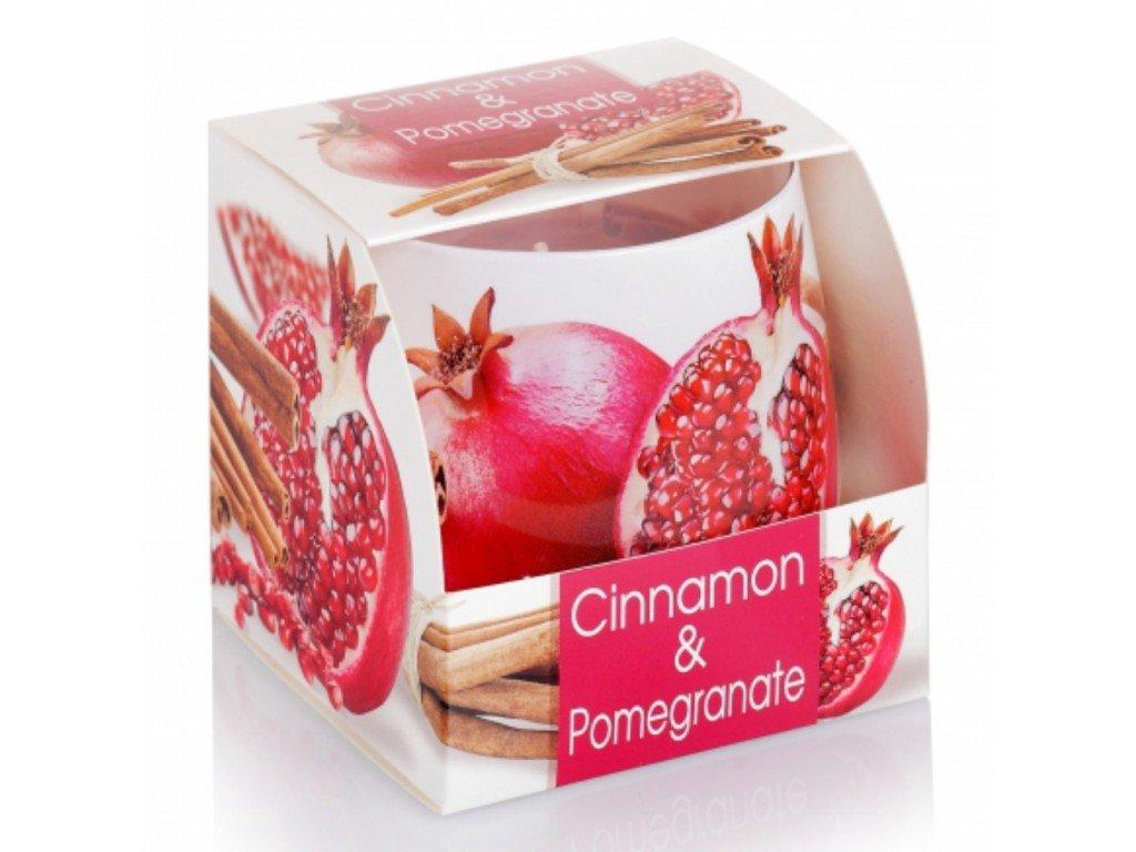 Svíčka Cinnamon & Pomegranate 100g