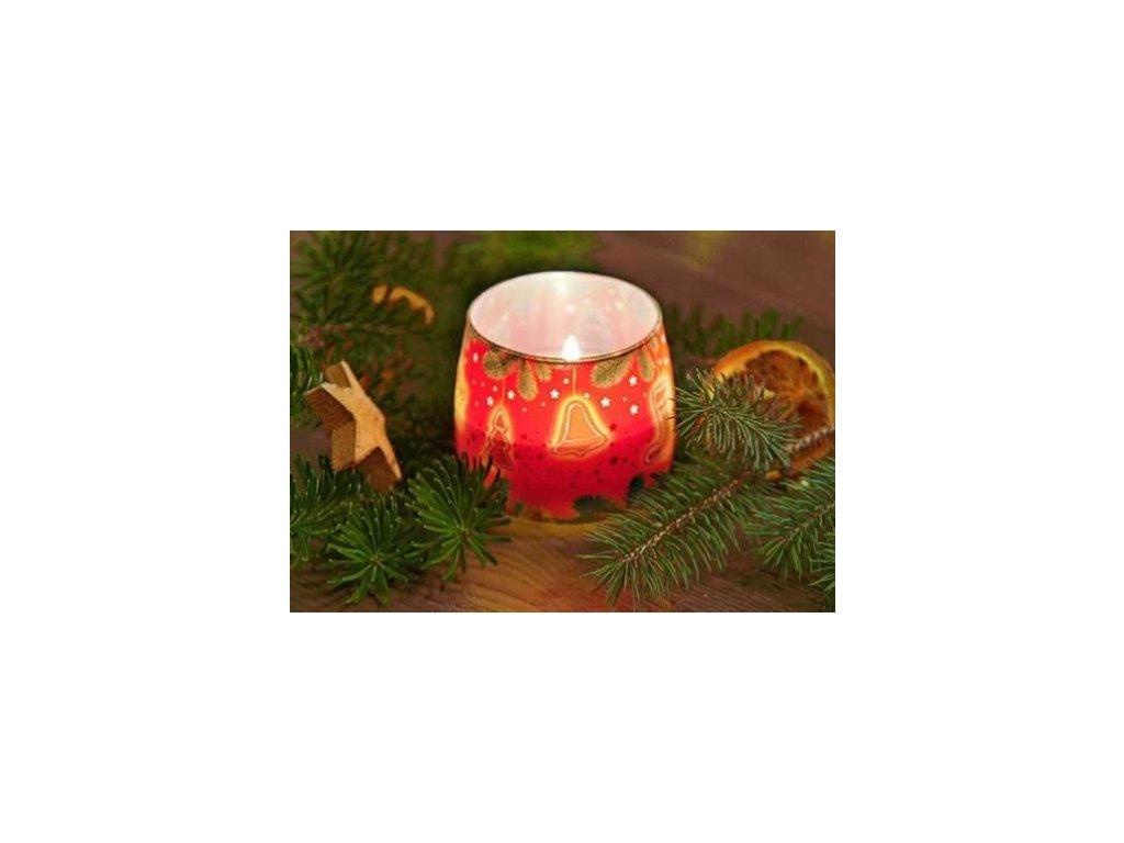 Svíčka Christmas Cake Cinnamon & Apple 100g