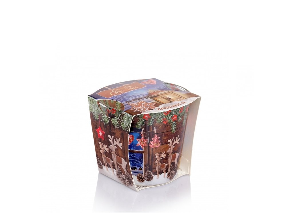 Svíčka Charming Christmas Gingerbread 115g