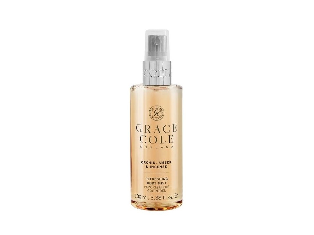 grace cole body mist orchid amber incense 100ml