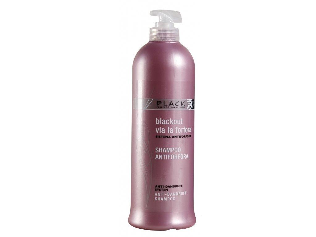 Black Anti-Dandruff šampon 500ml