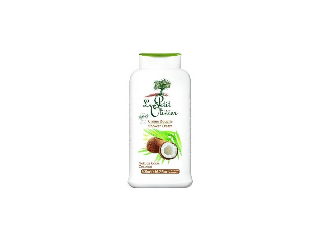 le petit olivier sprchovy krem kokos 500ml