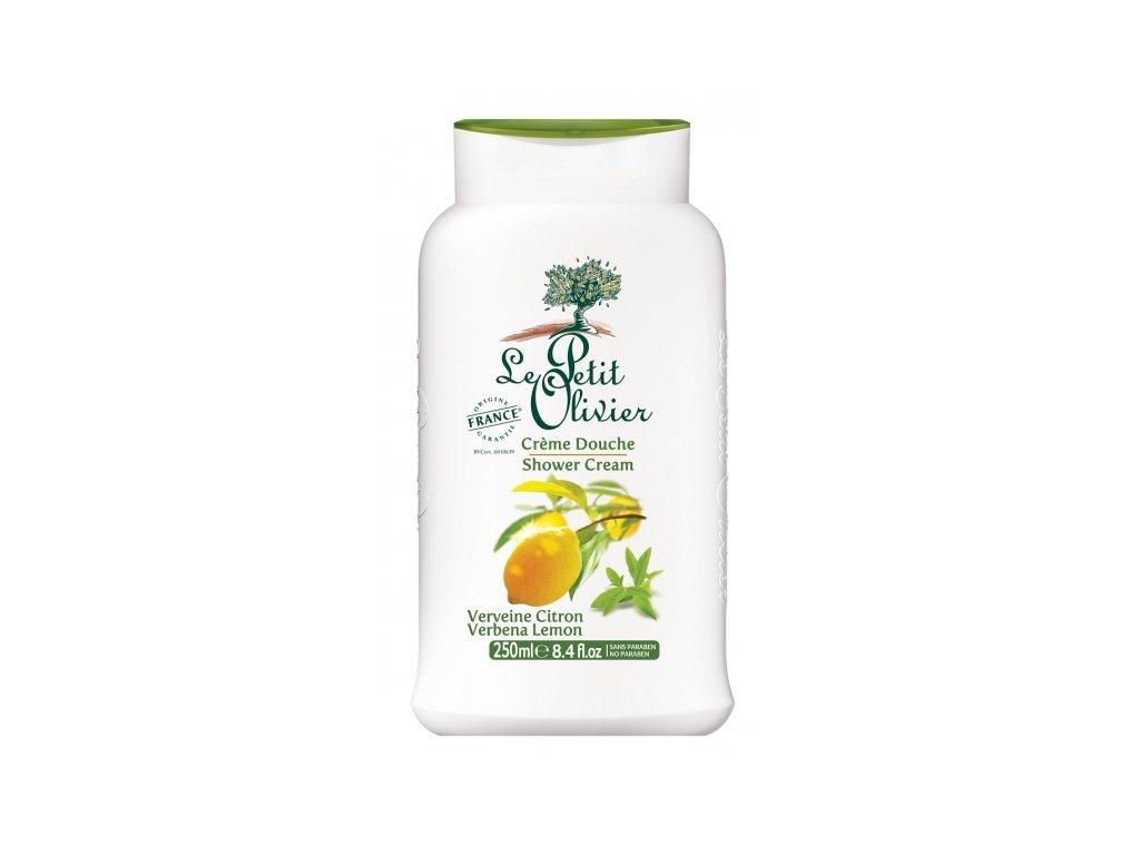 le petit olivier sprchovy krem verbena a citron 250ml