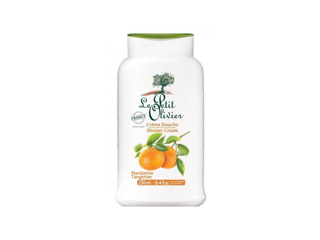 le petit olivier sprchovy krem mandarinka 250ml