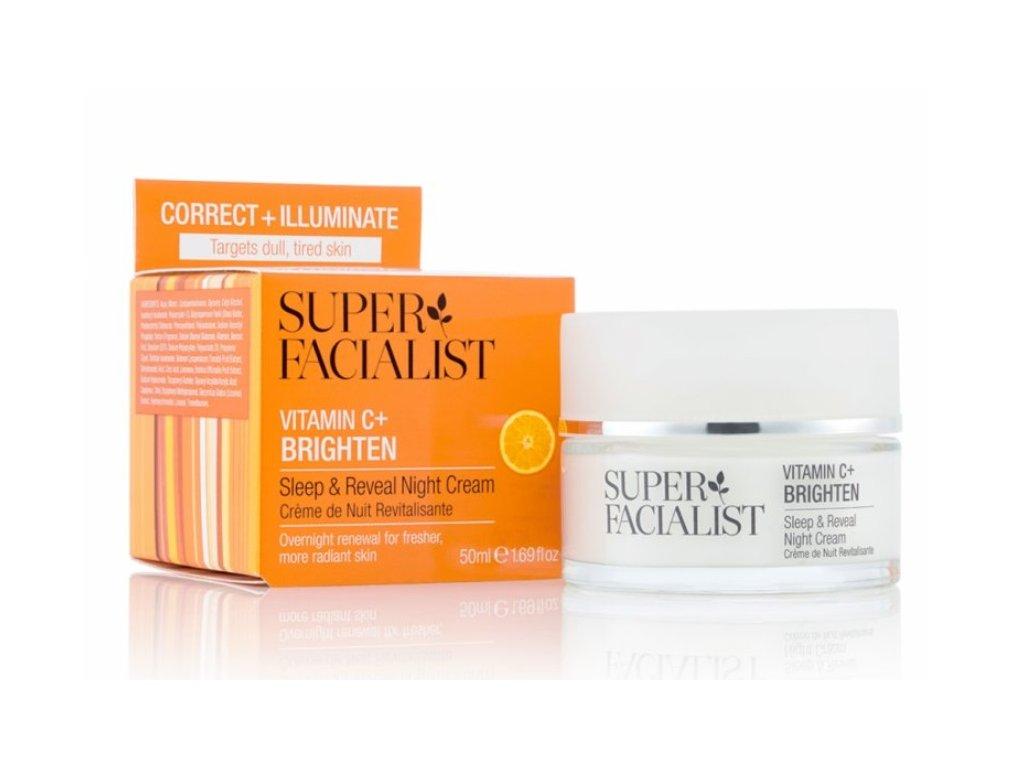 super facialist sleep reveal night cream 50ml