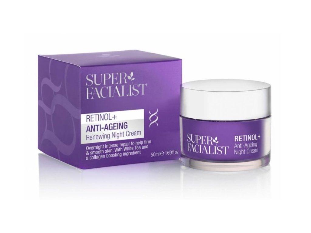 super facialist anti again renewing night cream 50ml