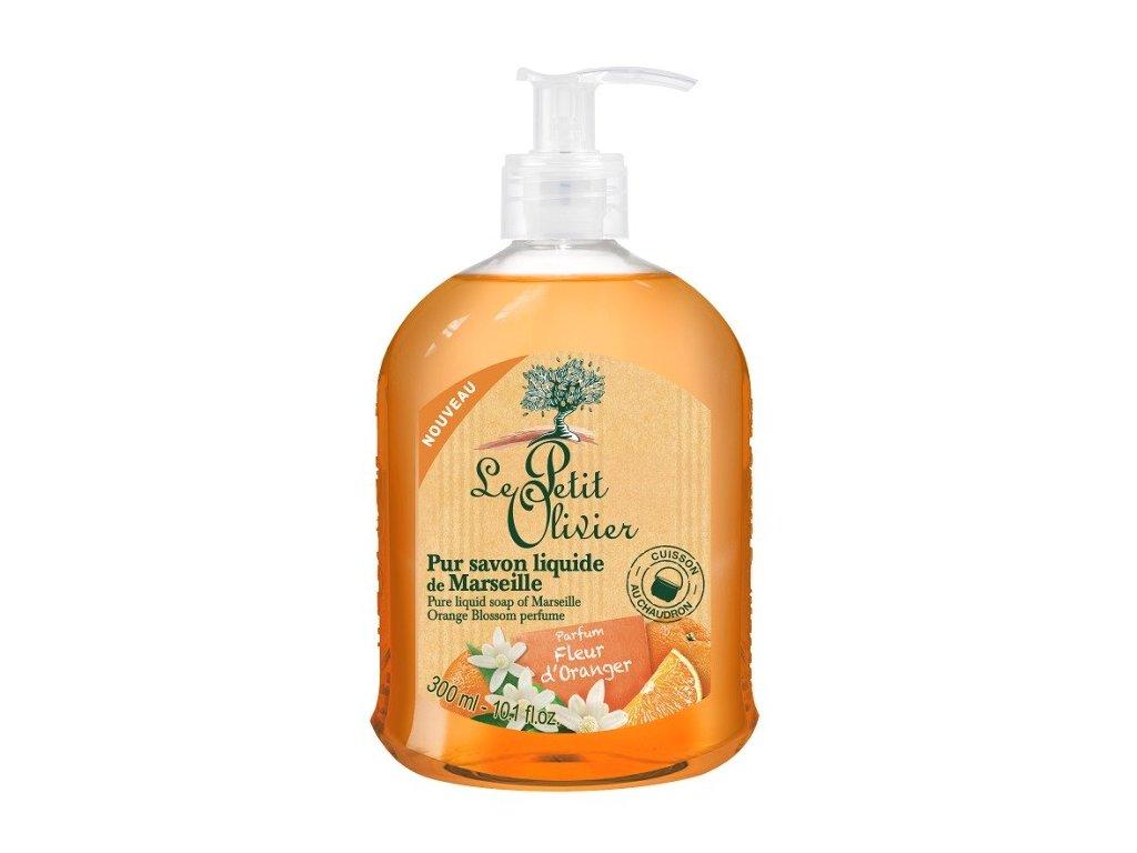 Le Petit Olivier Liquid Soap 300ml tekuté mýdlo Pomerančový květ