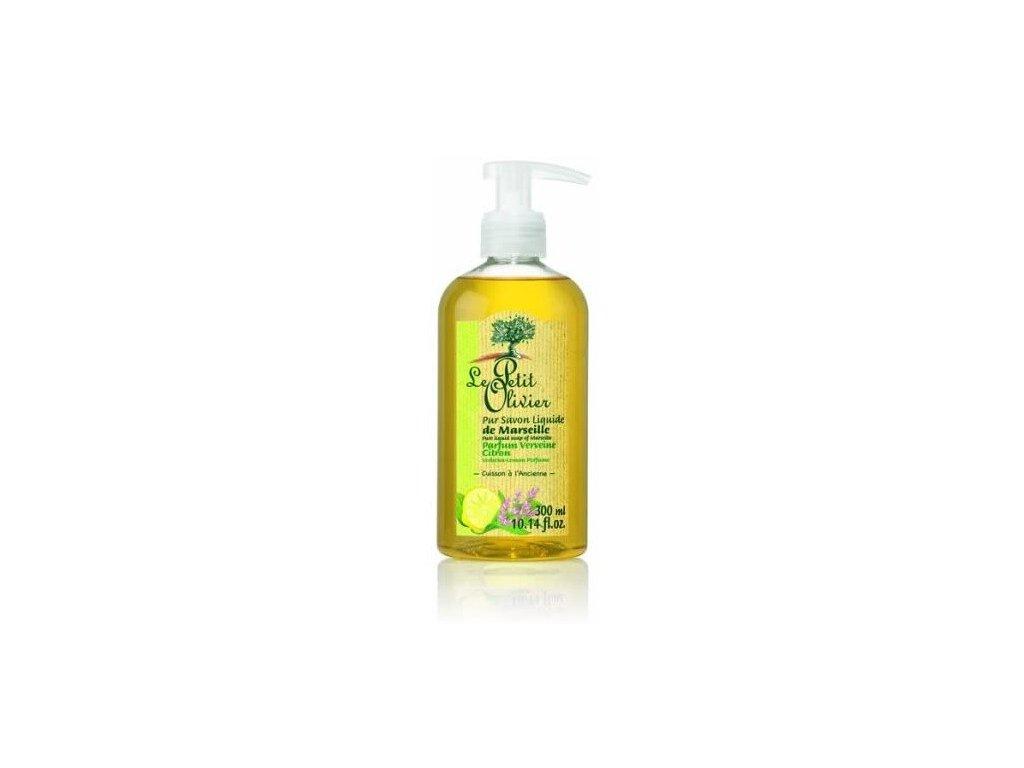 Le Petit Olivier Liquid soap 300ml tekuté mýdlo Verbena a citron
