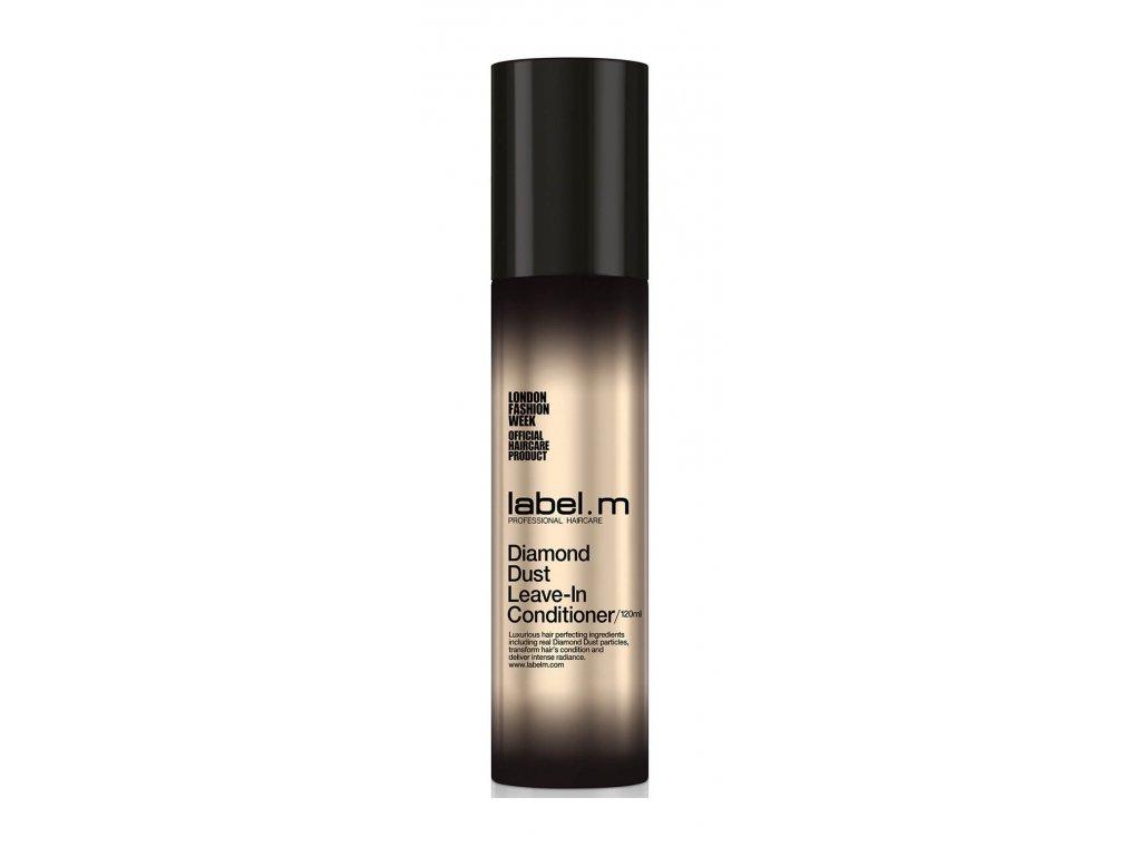 Label.m Diamond Dust Leave-In conditioner 120ml bezoplachový kondicioner pro výživu a lesk všech typů vlasů