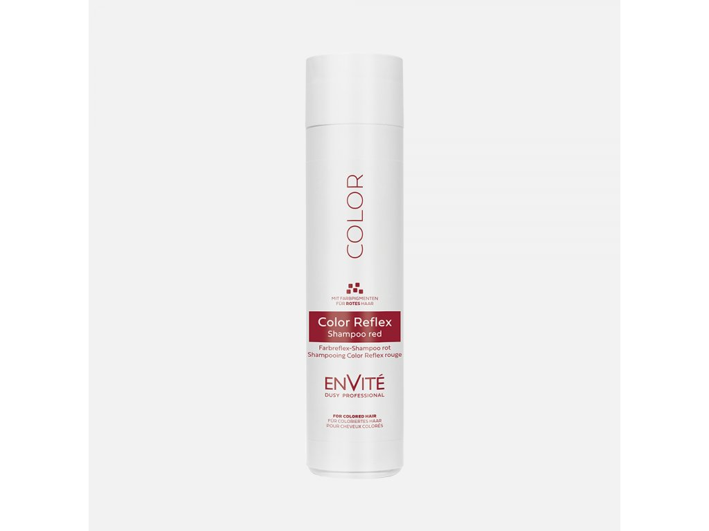 Dusy Envité Color Reflex Red shampoo 250ml červený šampon