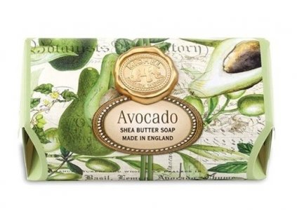 michel design avocado mydlo