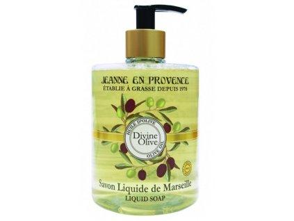 Jeanne en Provence Oliva tekuté mýdlo na ruce 500ml