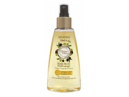 Jeanne en Provence Oliva suchý olej na obličej, tělo a vlasy 150ml