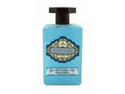 Aromas Artesanales de Antigua Spearmint & Rosemary pěna do koupele 500ml