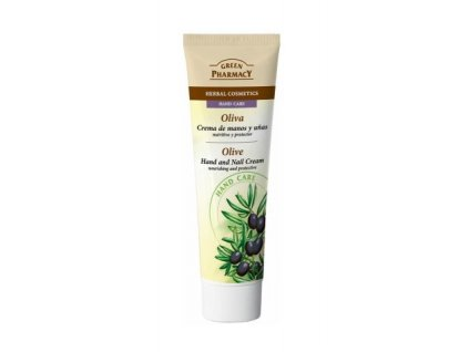 green pharmacy oliva cream hand