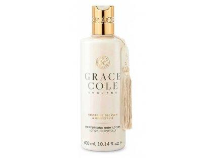 Grace Cole Nectarine blossom & Grapefruit body lotion 300ml tělové mléko