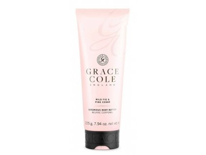 Grace Cole Wild fig & Pink cedar body butter 225g tělové máslo