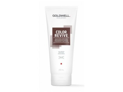 Goldwell Dualsenses Color Revive giving conditioner COOL BROWN 200ml kondicioner osvěžující barvu vlasů