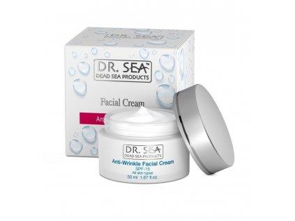 Dr. Sea Facial Cream Anti-wrinkle SPF15 50ml krém proti vráskám