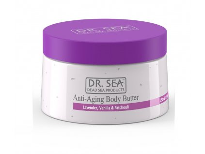 Dr. Sea Anti-Aging Body butter Lavender, Vanilla & Patchouli 250ml tělové máslo
